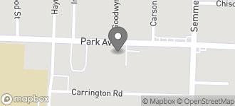Map of 2963 Park Avenue in Memphis