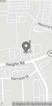 Map of 1855 Vaughn Rd in Wood River