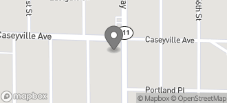 Map of 5520 Caseyville Avenue in Washington Park