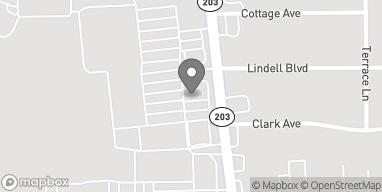 Map of 3453 Nameoki Rd in Granite City