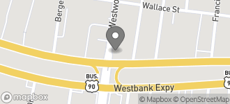 Map of 7020 Westbank Exp. in Marrero