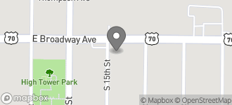 Map of 1503 East Broadway in West Memphis