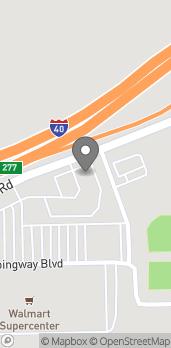 Mapa de 650 West Service Road en West Memphis
