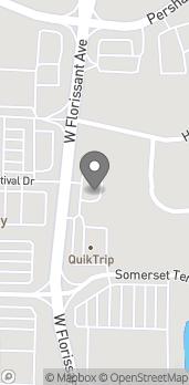 Map of 10772 West Florissant Ave in Saint Louis