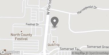 Mapa de 10772 West Florissant Ave en Saint Louis