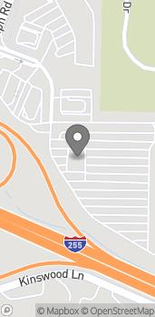 Mapa de 3280 Telegraph Rd en Saint Louis