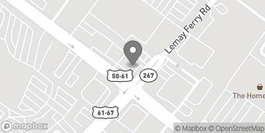 Mapa de 7345 S Lindbergh Blvd en Saint Louis