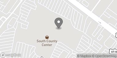 Mapa de 18 S County Center Way en Saint Louis