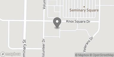 Mapa de 506 Knox Square Drive en Galesburg