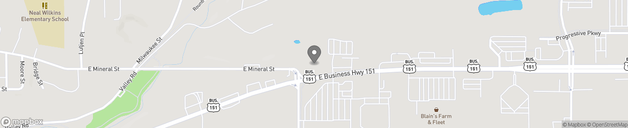 Map of 1400 Business Highway 151 in Platteville