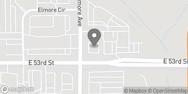 Mapa de 3120 E 53rd St en Davenport