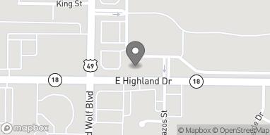 Mapa de 3006 E Highland en Jonesboro