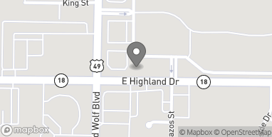 Map of 3006 E Highland in Jonesboro