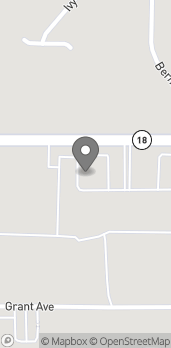 Mapa de 1841 E. Highland Drive en Jonesboro