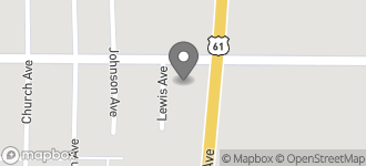 Map of 1000 S. Davis Avenue in Cleveland