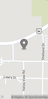 Map of 1083 W Washington St in Pittsfield