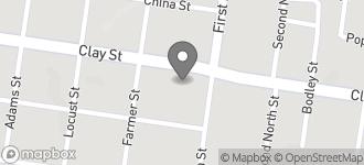 Map of 1320 Clay Street in Vicksburg