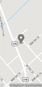 Map of 610 N Highway 67B in Walnut Ridge