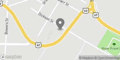 Map of 1103 Hwy 62 W in Pocahontas