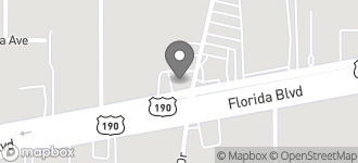 Map of 10785 Florida Blvd in Baton Rouge