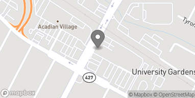 Map of 3613 Perkins Rd in Baton Rouge