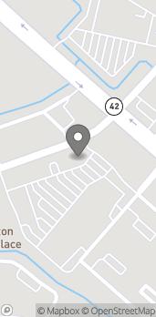 Map of 650 Arlington Creek Centre Blvd in Baton Rouge