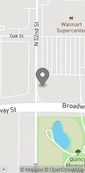 Map of 5201 Broadway Street in Quincy