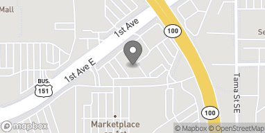 Map of 4701 1st Ave SE in Cedar Rapids