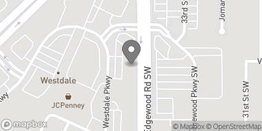 Map of 2360 Edgewood Rd in Cedar Rapids