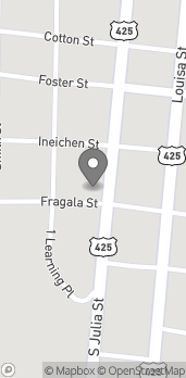 Map of 1924 Julia Street in Rayville