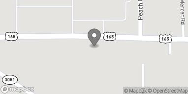 Mapa de 6070 Mer Rouge Road en Bastrop