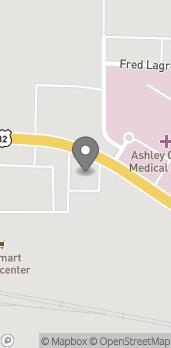 Mapa de 914 Unity Rd en Crossett