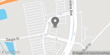 Mapa de 3211 Louisiana Ave en Lafayette