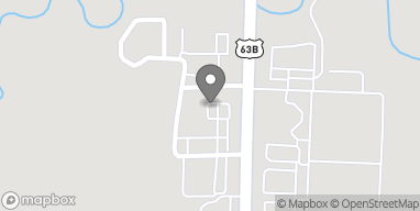 Map of 5500 S Olive St in Pine Bluff