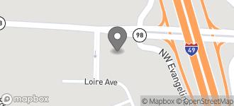 Map of 105 W. Gloria Switch Rd. in Lafayette