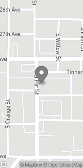 Map of 2528 W 28th St in Pine Bluff