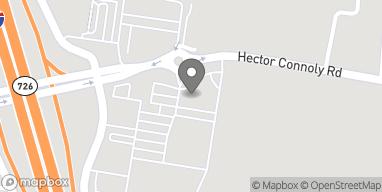 Mapa de 200 Hector Connoly Rd en Carencro
