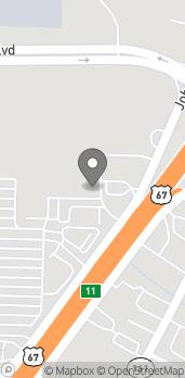 Mapa de 2070 John Harden Drive en Jacksonville