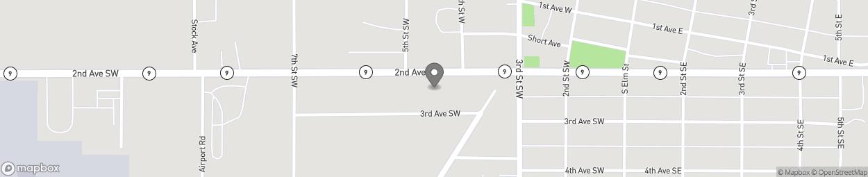 Carte de 425 2nd Ave SW à Cresco