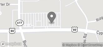 Map of 3426 Cypress Street in West Monroe