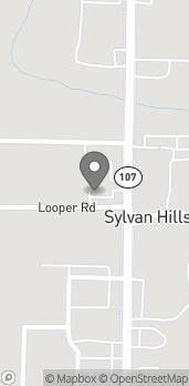 Mapa de 9007 Highway 107 en Sherwood