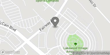 Mapa de 2617 Lakewood Village Dr en North Little Rock