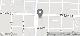 Map of 5423 W. 12Th Street in Little Rock