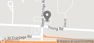 Map of 7621 Geyer Springs Road in Little Rock