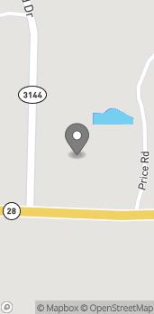 Mapa de 3113 Highway 28 East en Pineville