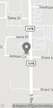 Mapa de 1407 S Rock Street en Sheridan