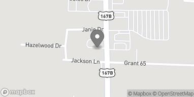 Map of 1407 S Rock Street in Sheridan
