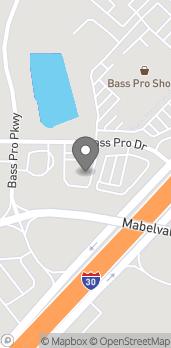 Mapa de #6 Bass Pro Dr. en Little Rock