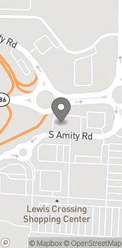 Mapa de 1145 S Amity Rd en Conway