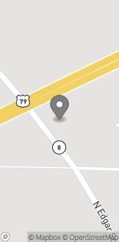 Mapa de 1230 Edgar St en Fordyce
